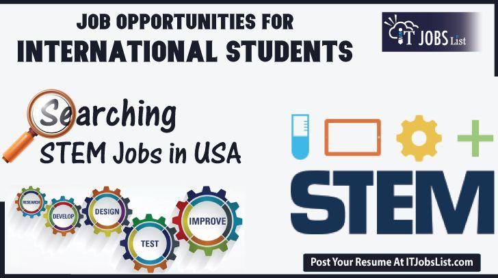 Stem jobs in USA for International #Students 2927 #Stem jobs