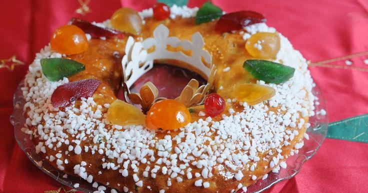 Chez nous en Provence, on trouve dans la plupart des boulangeries-pâtisseries desgâteaux des rois sous forme de brioches.  C'est une brioch...
