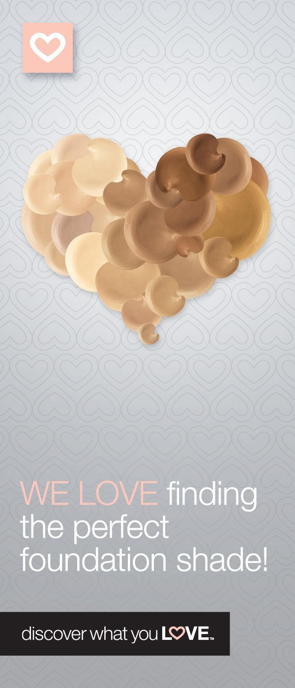 Find your perfect foundation shade with the Mary Kay Virtual Makeover online. http://www.marykay.com/aphillips0315