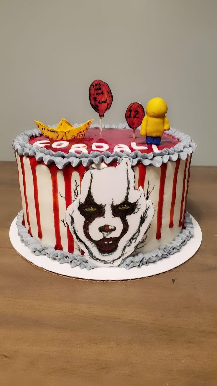 Pennywise it cake in 2020 sweet recipes cake cupcake