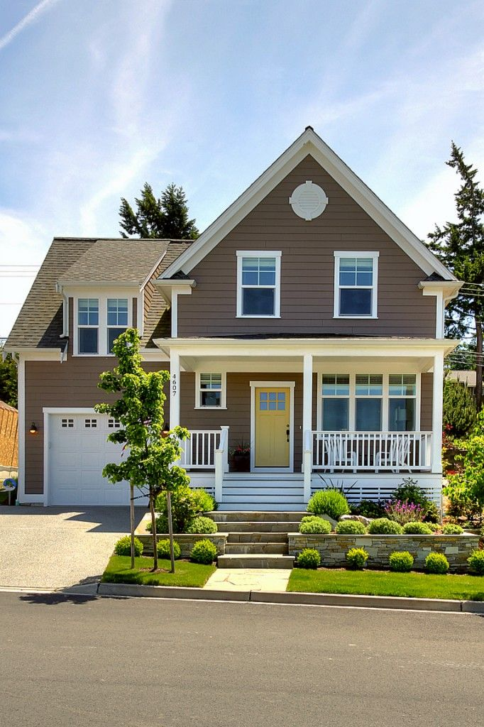 Best 25 brown house exteriors ideas on pinterest diy - Brown exterior house color combinations ...