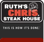 Ruth's Chris Steak House - The Best USDA Prime Steak Restaurant.  This restaurant is in the same building as the Hampton Inn.