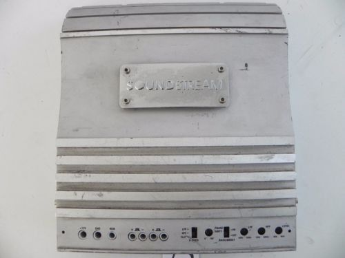 2003 SOUNDSTREAM EGA2120 CAR AUDIO AMPLIFIER STEREO BRIDGEABLE 120W X 2 #72