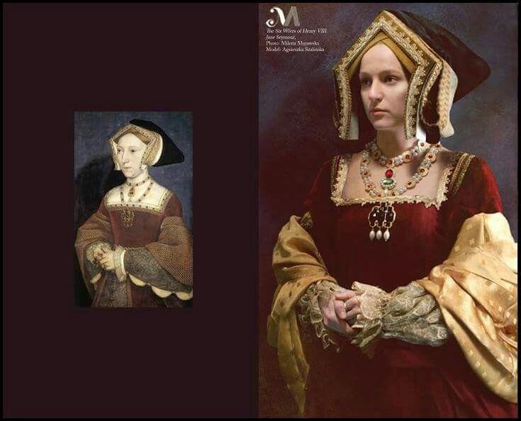 The six wives of King Henry VIII back to life : Jane Seymour. Photography: Milena Murawska, model: Katarzyna Maciejewska