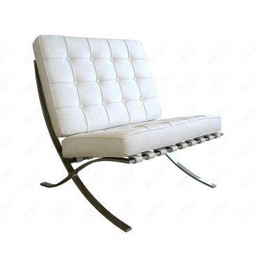 Mies van der Rohe Style Pavilion Chair (Multiple Colors/Materials) | Designer Reproduction