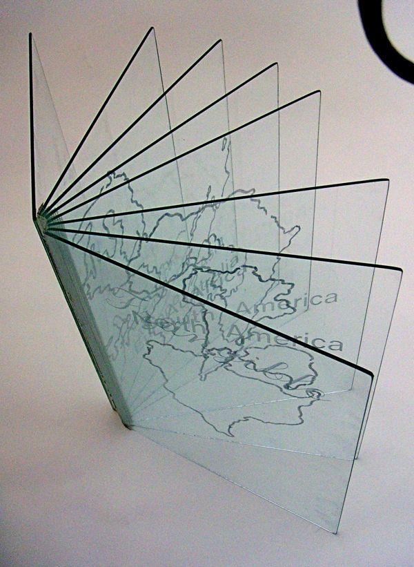 Glass Artist Book by Alexandra Keck, via Behance