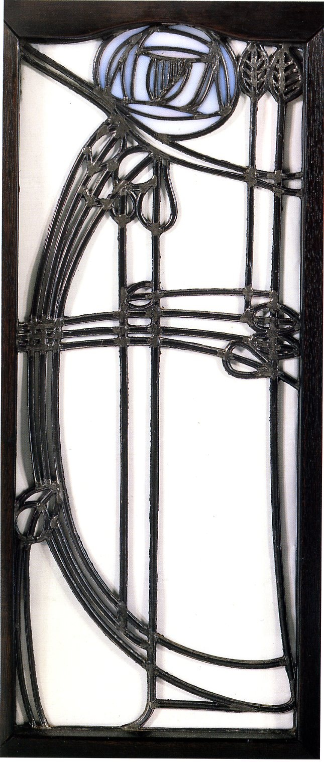 Margaret Macdonald Mackintosh, Window, detail of a cupboard, 1898-1899