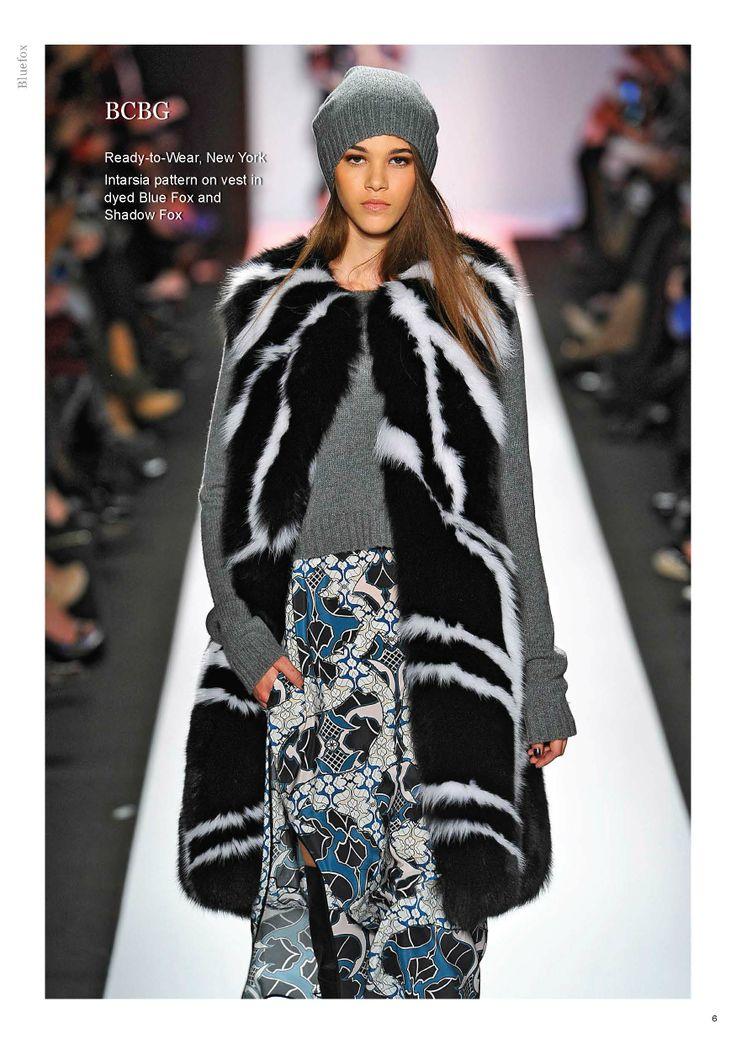 Saga Furs Bluefox lookbook A/W 2013-14
