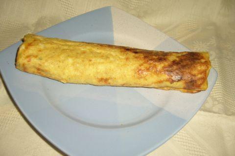 Omleta la cuptor cu umplutura de brinza | Dieta Dukan