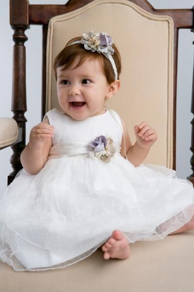 Los más Hermosos Vestidos de Bautizo para Niña