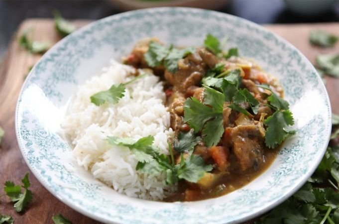 Easy Chicken Curry from Kerryann's Family Cookbook