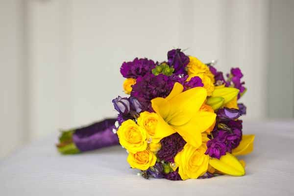 Amazing images of purple and yellow flower arrangements best home 12 best images about cj just purple and gold on pinterest mightylinksfo