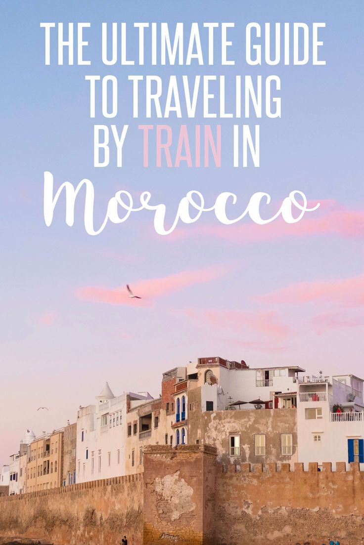 The ultimate guide to traveling by train in morocco
