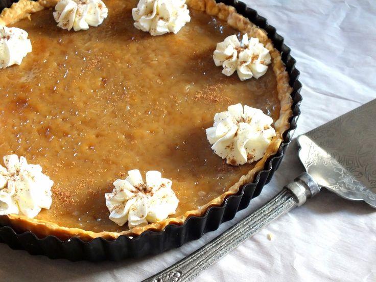 All That's Left Are The Crumbs: Bailey's Sugar Cream Pie - Happy Pi(e) Day
