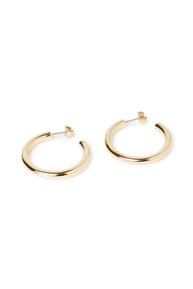 Weekday image 1 of Ring Hoop Earring in Gold