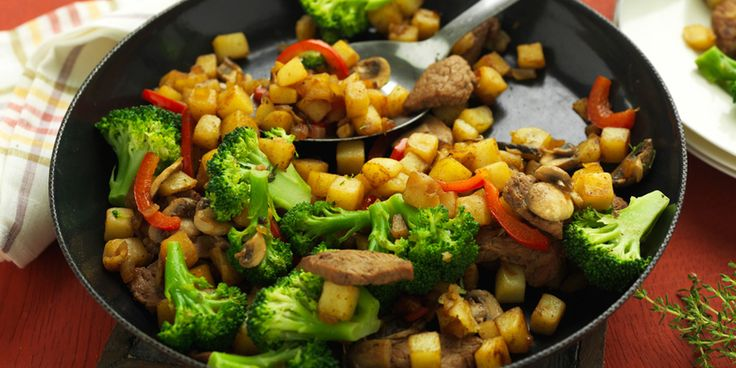 Aardappelpannetje met lamsvlees