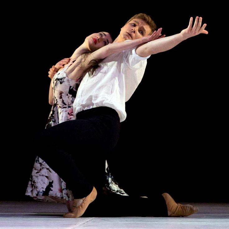 Serena Graham and Joseph Romancewicz in Almost. Photo by Sergey Konstantinov.