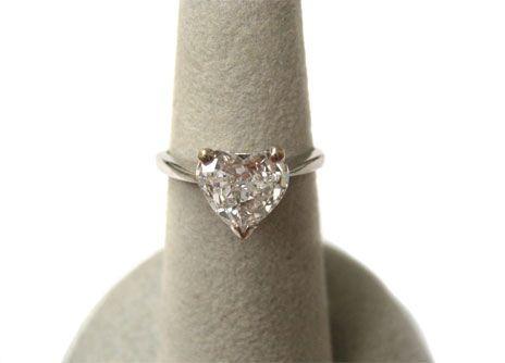 heart shaped diamond rings - Bing Images