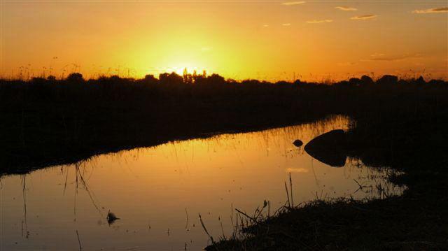 Sunset #Bloemfontein http://www.bloemfonteinguide.co.za/makarios-country-lodge/