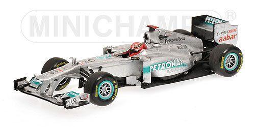 2011 Mercedes Petronas GP F1 Team MGP W02 Schumacher 1 43 Minichamps 410110007   eBay