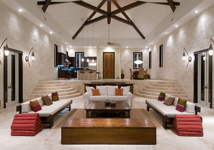 Maison de rêve: Îles Turques et Caïques | CHEZ SOI Photo: ©Luxury Retreats #deco #maisondereve #caraibes #location #luxe #vacances #maisondevacances