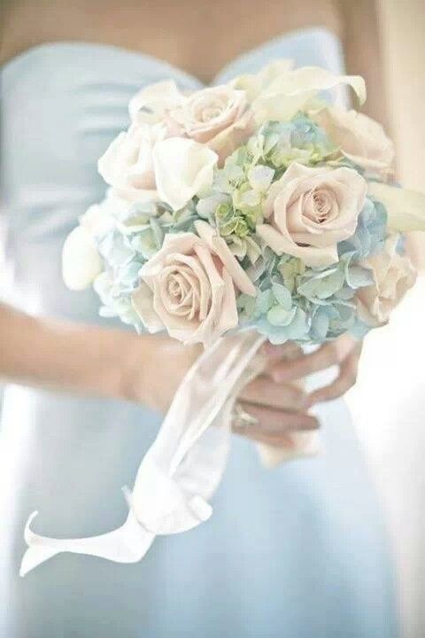 #Pastel #Blue #Wedding   … 'Wedding Guide' App ♥ Free for a limited time … https://itunes.apple.com/us/app/the-gold-wedding-planner/id498112599?ls=1=8  ♥ For more magical wedding ideas http://pinterest.com/groomsandbrides/boards/ ♥