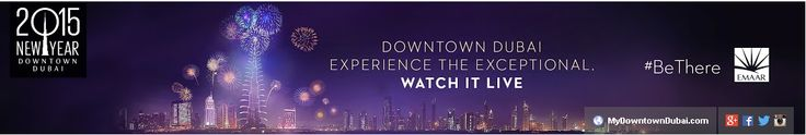 Live Stream Link http://www.youtube.com/user/DowntownDubai Catch the Burj Khalifa New Year's Eve spectacle — from your tablet or laptop — anywhere in the world. No matter where you are on earth, now you can catch the New Year's Eve countdown and fireworks display on the world's tallest building. That's because Emaar, the UAE-based developer behind Burj […]