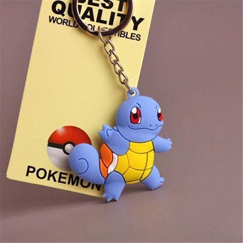 Chaveiros Pokemon Go (figuras miniaturas em Silicone) ***Limitado a 3 itens por pedido!***