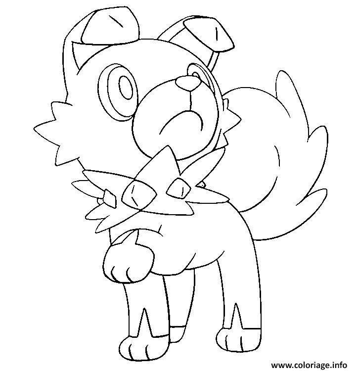 Coloriage Pokemon Lune Et Soleil Pokemon Coloring Pages Moon