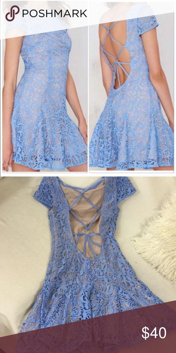 Nasty gal dress Cute nasty gal dress !!! Size small Nasty Gal Dresses