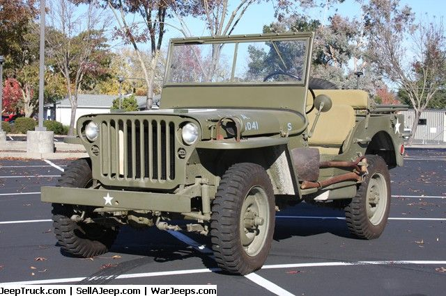 Military Jeep For Sale >> 1942 Ford Script GPW Jeep | Military Jeeps For Sale | Pinterest | Jeeps, Ford and Willys mb
