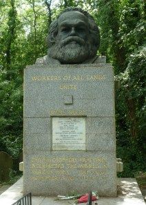 Tomb of Karl Marx, East Cemetery, Highgate