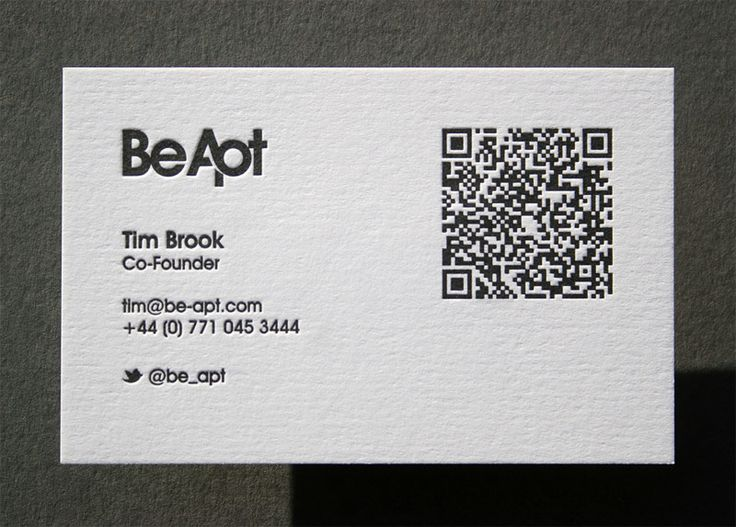 92 best Letterpress Business Cards images on Pinterest - letterpress business card