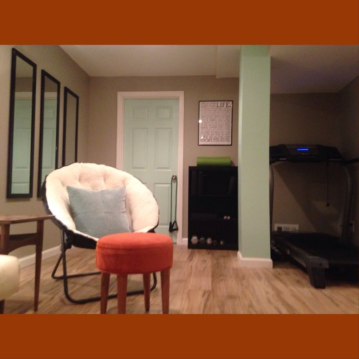 basement exercise room after pictures pinterest exercise