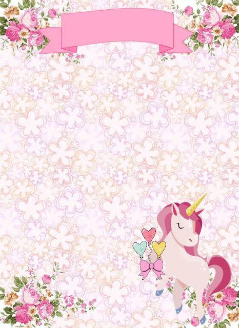 free unicorn birthday invitation templates