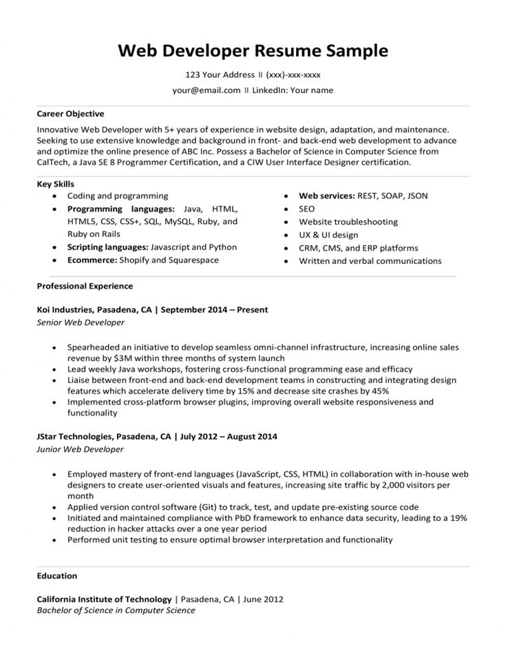 front end developer resume examples 2021  resume examples
