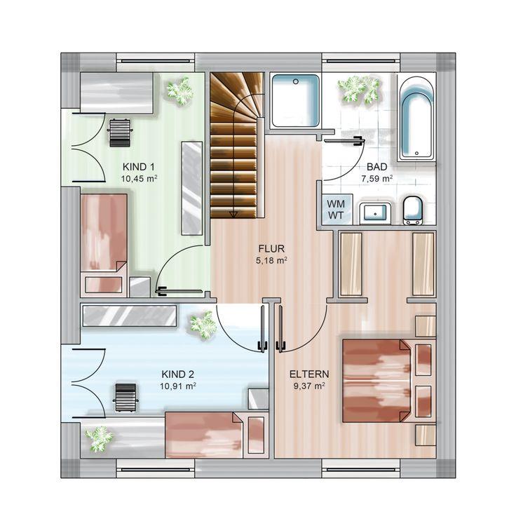525 best haus grundriss images on pinterest. Black Bedroom Furniture Sets. Home Design Ideas