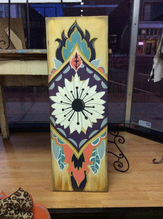 Tribal Painting by CrossMyArtStudios on Etsy, $60.00