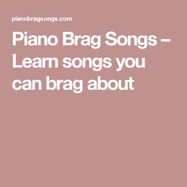 Announcing the return of Piano Brag Songs! We are back after a long hiatus! We are thrilled to announce our return, as well as some new hotness. WHAT'S NEW: 1. New Website The redesigned PianoBragSongs.com is now live; come check it out! We have made it even easier to find the sheet music you want. 2. New Songs Browse the latest hits straight from the top of the charts, including: -Can't Stop the Feeling - Justin Timberlake -Stitches - Shawn Mendes -Just Like Fire - P!nk -Fight Song - Rac