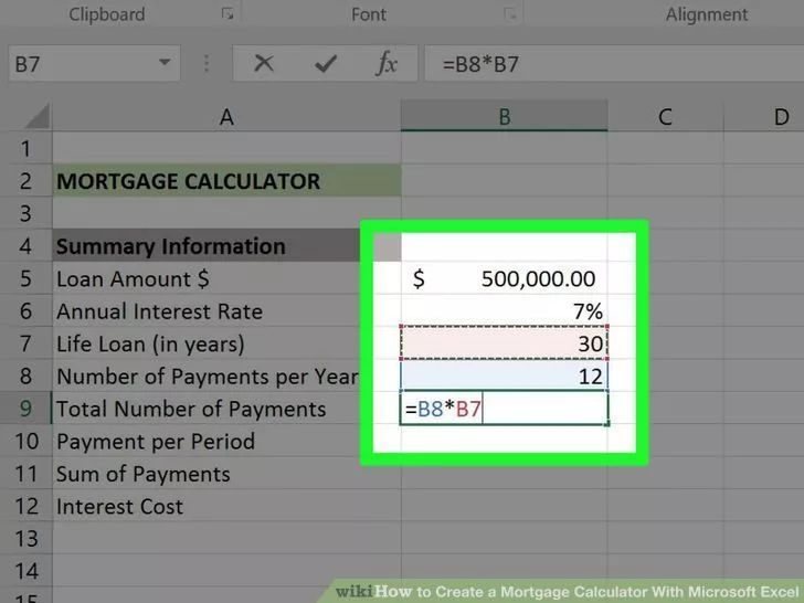 Create A Mortgage Calculator With Microsoft Excel 15 Year Mortgage Amortizatio Mortgage Loan Calculator Mortgage Amortization Calculator Mortgage Calculator