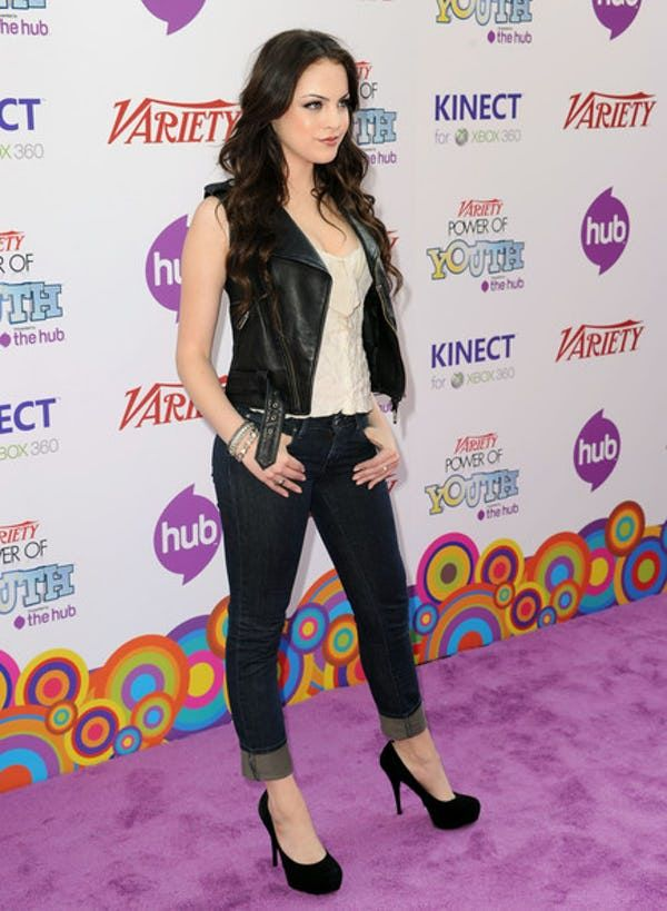 "Photos of Elizabeth Gillies, one of the hottest girls in movies and TV. Born in 1993 in New Jersey, you may recognize Gillies from her work in ""Victorious,"" where she played Jade West. The multi-talented performer appeared on Broadway when she was only 15, appearing in the musical &..."