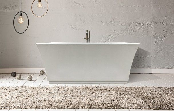 Clarke Nela 60 X 32 Freestanding Soaking Bath Tub In White Chrome Drain T3260nfs 01 With Images Free Standing Bath Tub