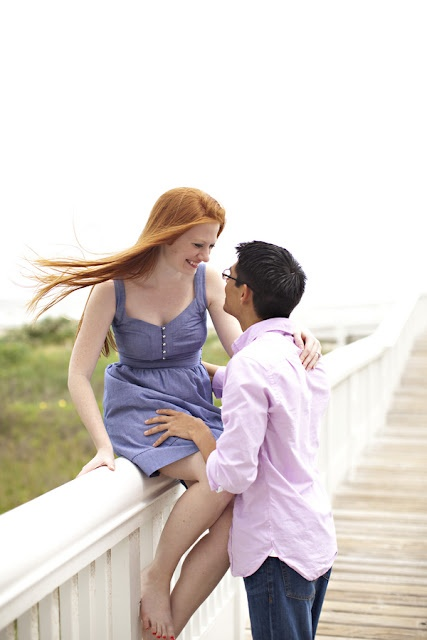 Galveston Engagement Photos out on the West End - away from the Seawall @Kate Mazur Mazur Mazur Wiemers