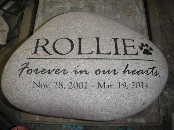 12 Touching Pet Memorial Stones: In Memory Of Pet Tributes