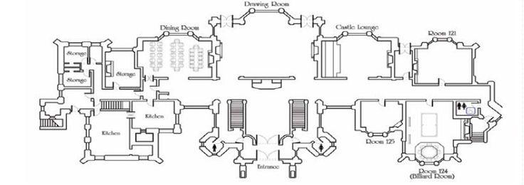 Hatley Castle Floor Plan Architecture Pinterest