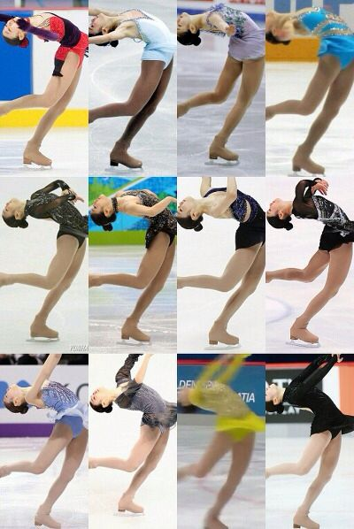 Layback spin. 2007~2014