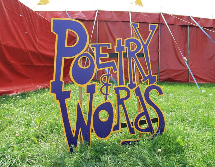Apply for Poetry&Words at Glastonbury Festival...