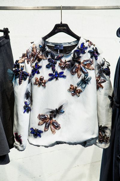 Polished but highly wearable interpretation of insects . I love the variety win regards to scale and concept and the way in which the colours balance one another