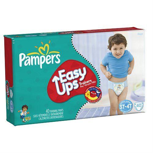 Pampers Easy Ups Boys, Mega Pack, 3T-4T (Size 5)