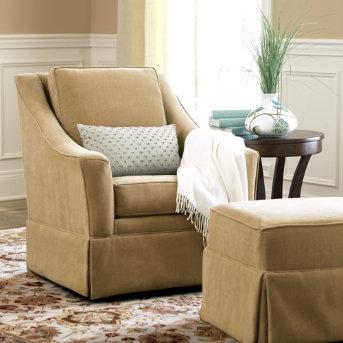 swivel chair + ottoman  $899